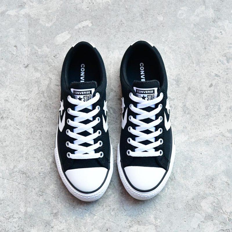 663656C_AmorShoes-Converse-Star-Player-Black-White-Lona-algodon-color-negro-Black-cordones-663656C