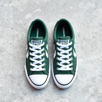 663657C_AmorShoes-Converse-Star-Player-Fir-White-Lona-algodon-color-verde-oscuro-botella-green-cordones-663657C