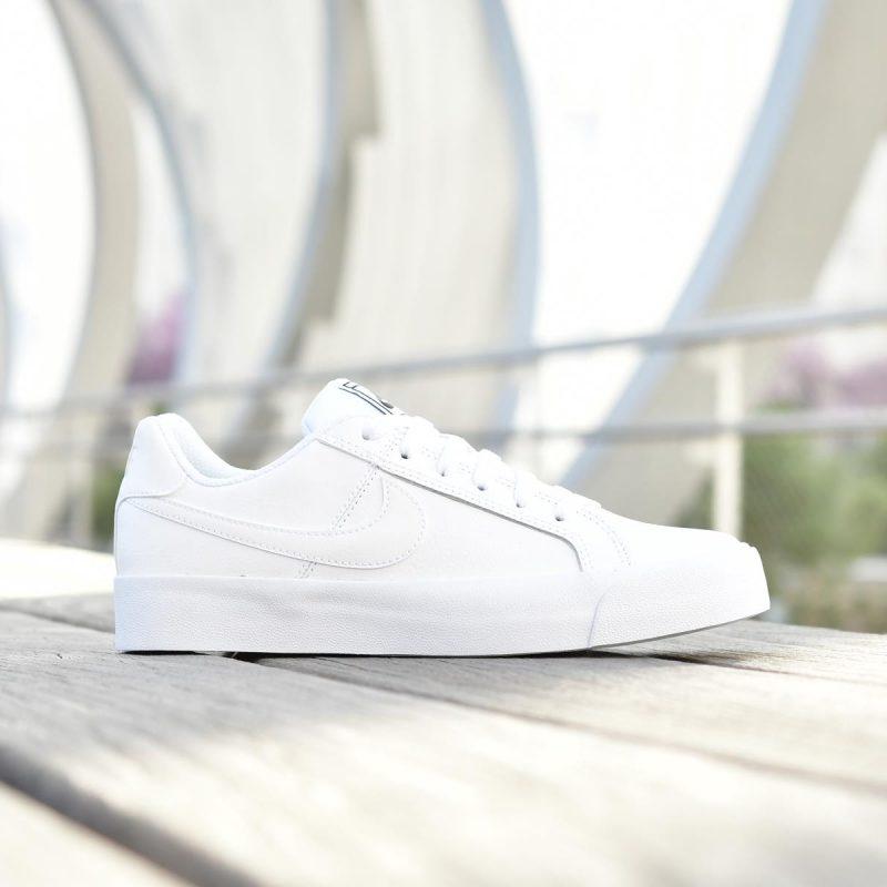 zapatillas con plataforma blanca nike