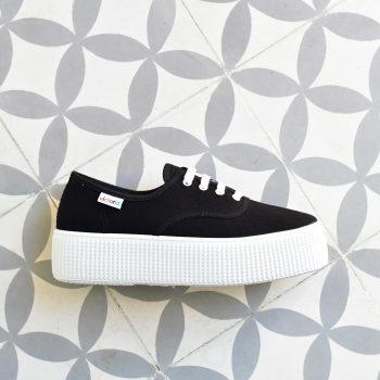 AmorShoes_116110-zapatilla-victoria-doble-suela-1915-platadorma-victoria-lona-negra-negro-piso-blanco-116110