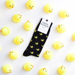 AmorSocks-calcetines-socks-patos-patitos-de-goma-ducks-rubber-ducks-negro-blanco-amarillo-yellow