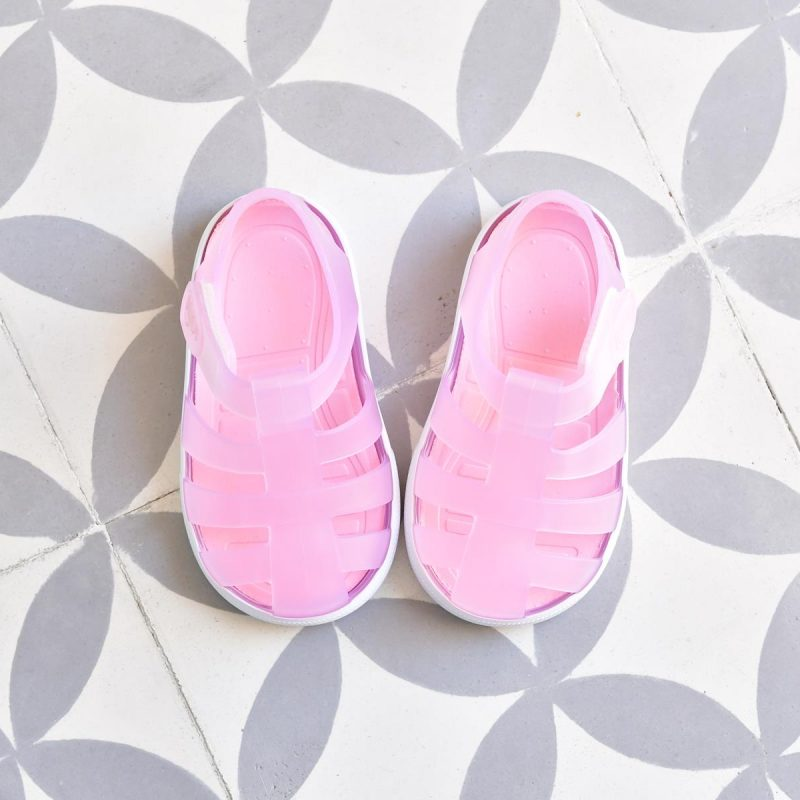 S10171-022_AmorShoes-Igor-shoes-STAR-cangrejera-sandalia-para-agua-rosa-traslucida-pink-S10171-022