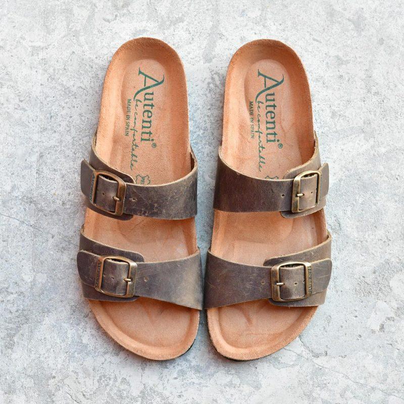 7112_AmorShoes-Auntenti-by-Penta-sandalia-bio-dos-tiras-con-hebilla-para-mujer-chicas-de-piel-premium-color-marron-verde-kaki-7112