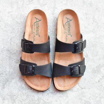 7112_AmorShoes-Auntenti-by-Penta-sandalia-bio-dos-tiras-con-hebilla-para-mujer-chicas-de-piel-premium-color-negro-7112