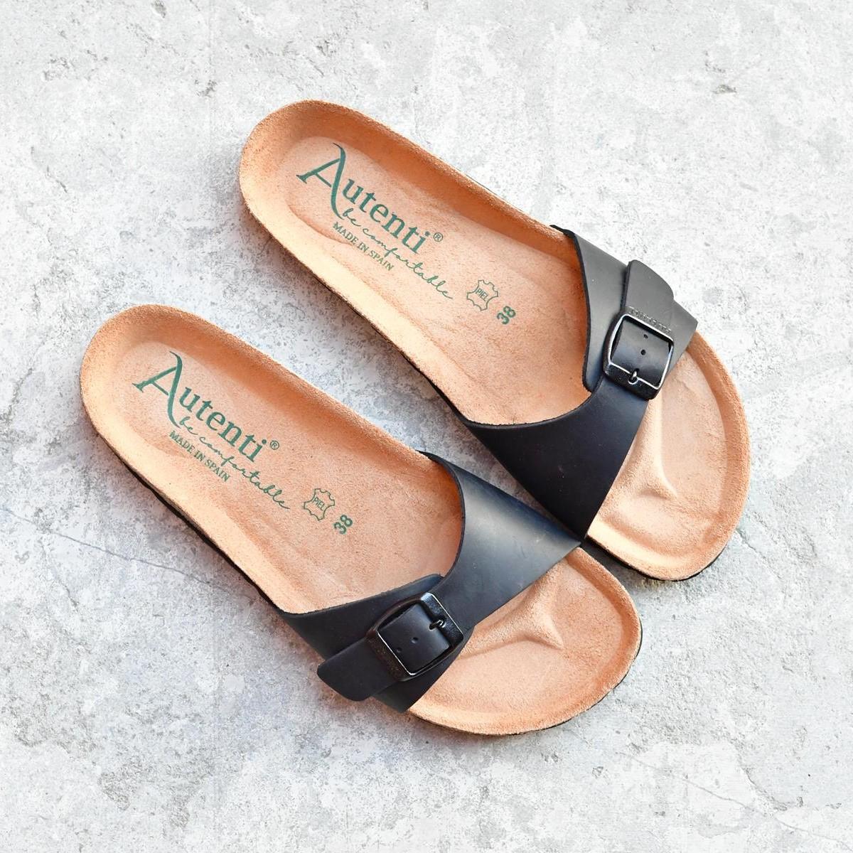 740_AmorShoes-Auntenti-by-Penta-sandalia-bio-una-tira-con-hebilla-para-mujer-chicas-de-piel-premium-color-negro-740