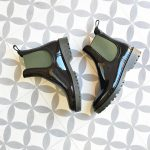 Botín de agua IgorShoes Track Bicolor Negro / Kaki