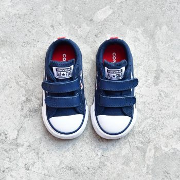 Converse Star Player All Star Lona Azul Marino Pequeñ@s