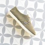 Zapatillas Barqet Dogma Low Piel Vuelta Perforadas Kaki Suede Zapatos