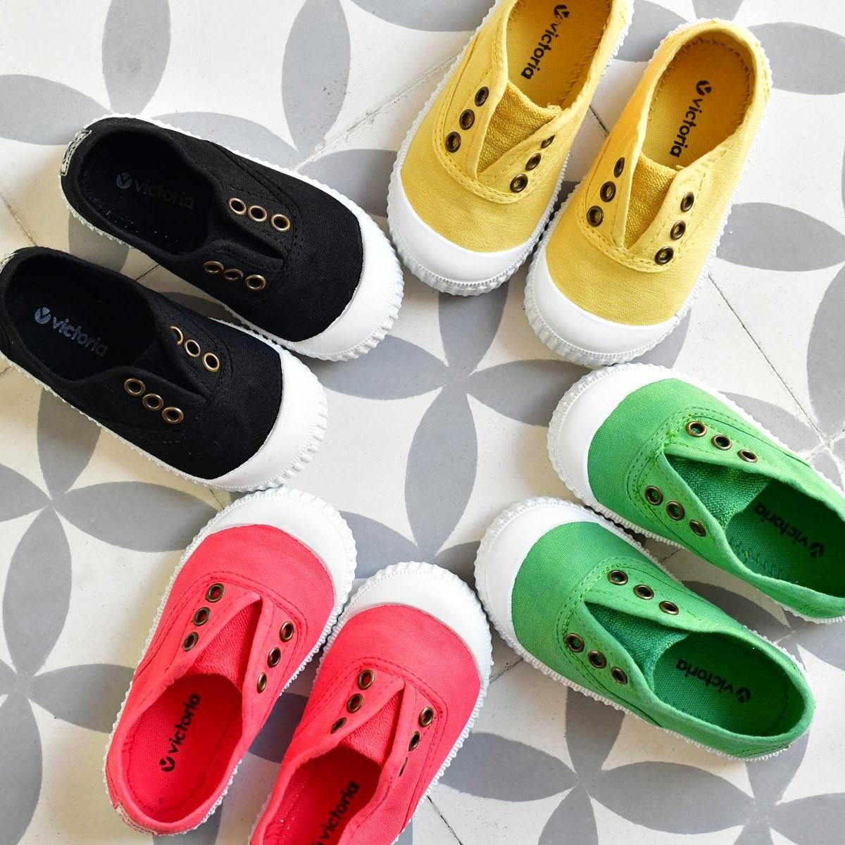 zapatillas victoria lona verano niños niñas