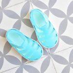 Cangrejera Igor Star Traslúcido Aguamarina S10171-034 IgorShoes Verde Agua