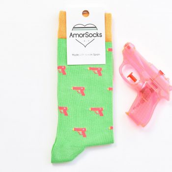 AmorSocks WaterGun Green
