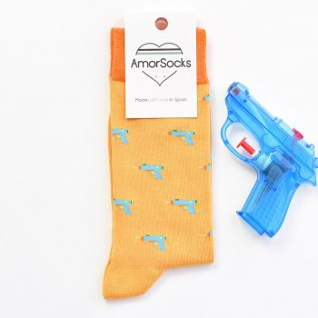 AmorSocks WaterGun Mostaza