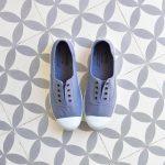 Inglesa Elástico Victoria Puntera 6623 Azul