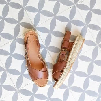 Sandalia Yute Cruzada Pölka Shoes Hermes Setter 465P