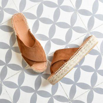 Sandalia Yute Serraje Pölka Shoes Kas Setter Plataforma 812P
