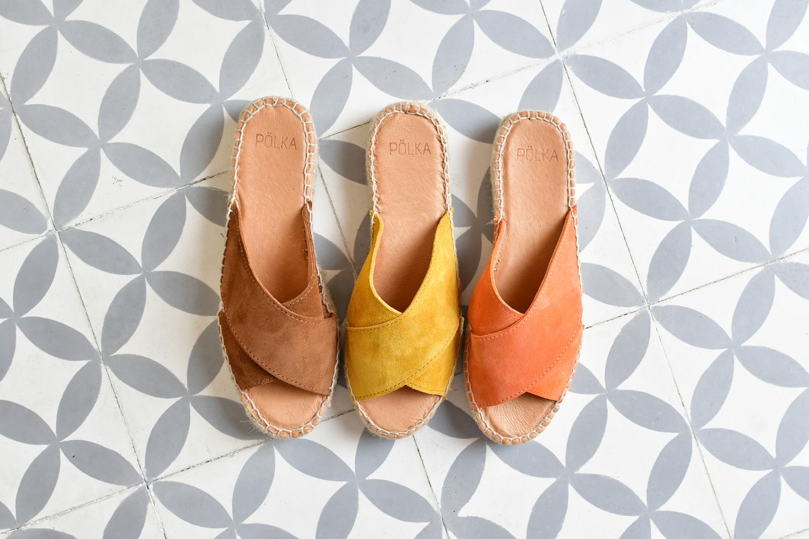 Sandalias MAde in Spain Polka Shoes