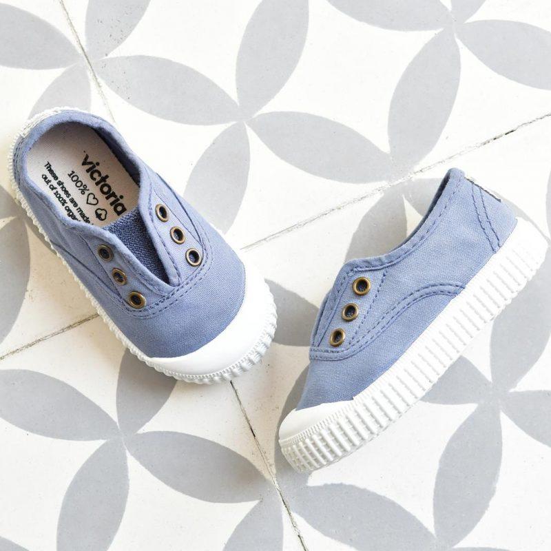 Zapatilla Inglesa Victoria 6627 Azul