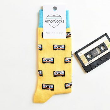 AmorSocks Cassette Yellow