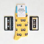 AmorSocks Cassette Yellow