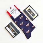 AmorSocks Cassette Navy