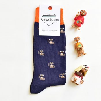 AmorSocks Mi Casa Navy