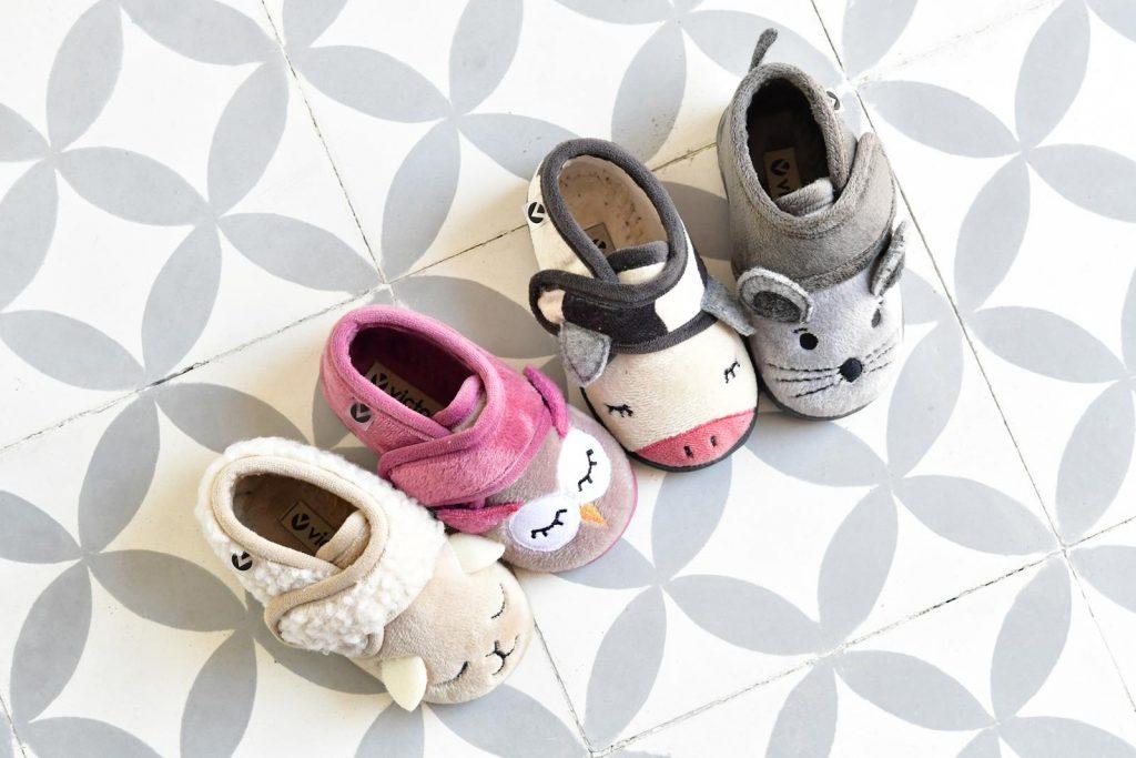 zapatillas para casa niño niña animales
