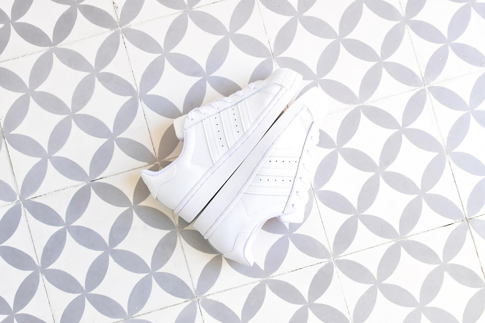 Adidas Superstar Blanco Monocromo