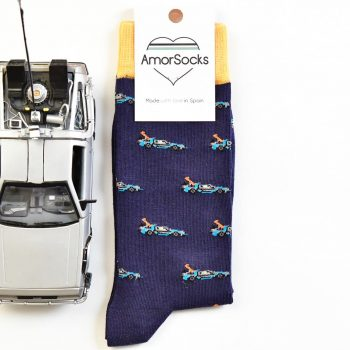 AmorSocks DeLorean Navy