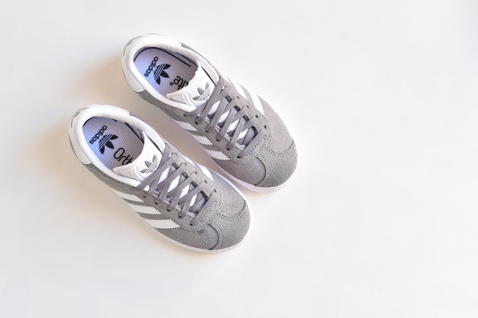 adidas gazelle grises niña