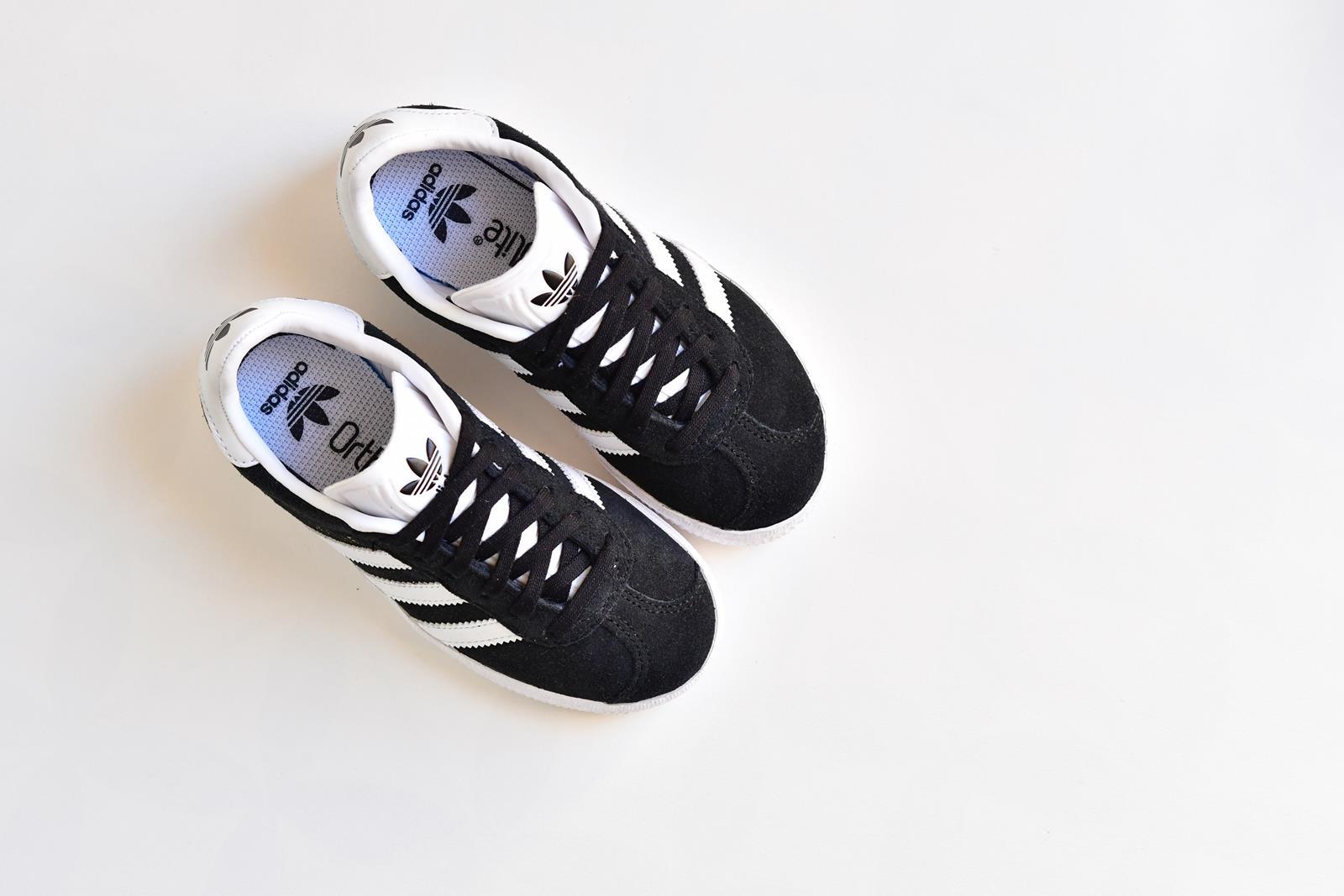 gazelle adidas niña negras