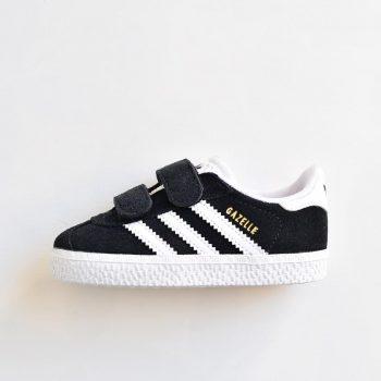 adidas gazelle negra velcro cq3139 bebe