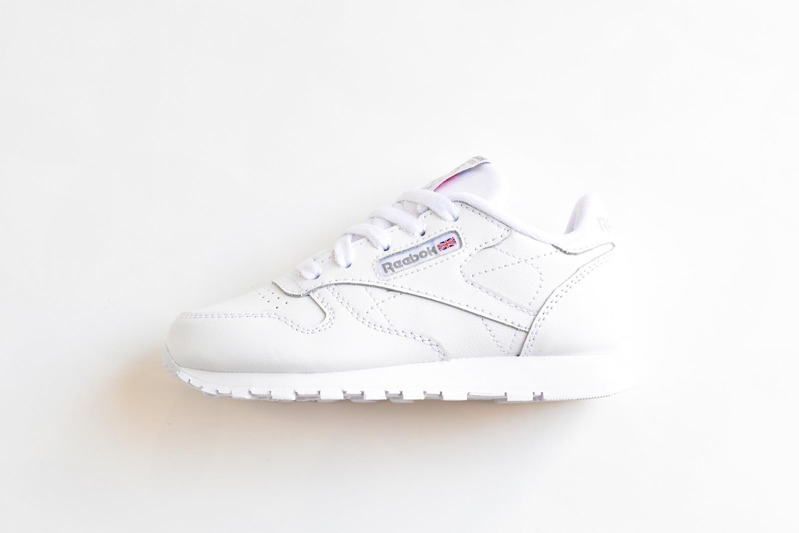 reebok classic leather blanca cordones 50172