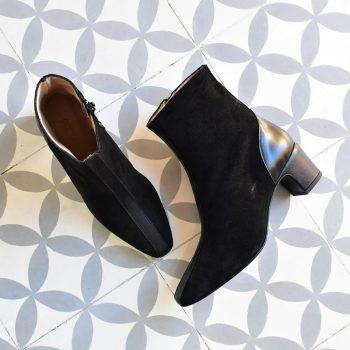 Botín Pölka Shoes Mirelle Negro
