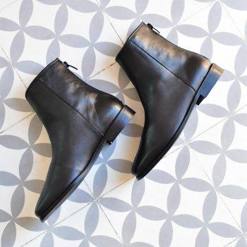 Botín Pölka Shoes Soleil Negro