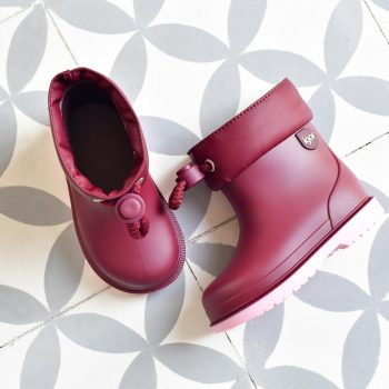 Bota de agua Igor Shoes Bimbi Bicolor Burdeos