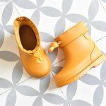 bota de agua igorshoes bimbi mostaza
