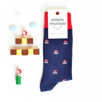 AmorSocks Mario Navy