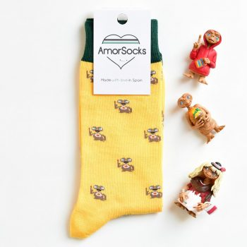 AmorSocks Mi Casa Yellow