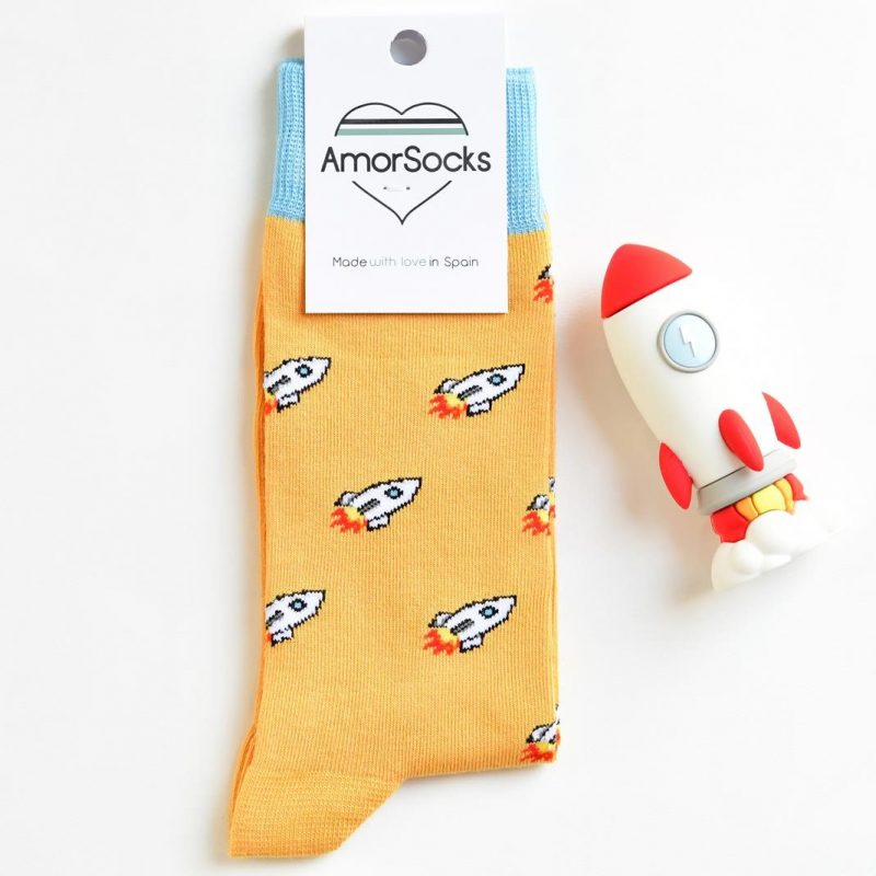 AmorSocks Rocket Mostaza