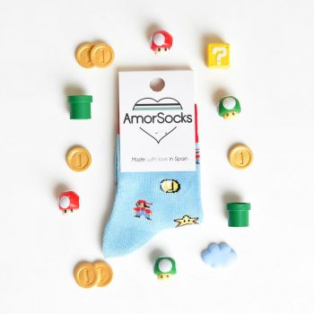 AmorSocks SuperMario Kids