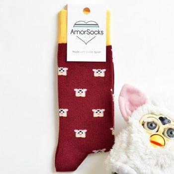 AmorSocks Furby Burdeos