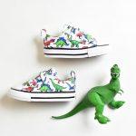 Converse Chuck Taylor AllStar Velcro Dinos Kids