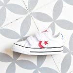 Converse StarPlayer AllStar Lona Blanca Kids