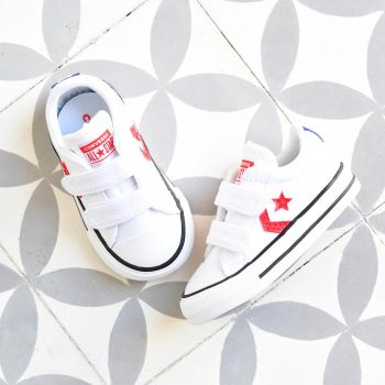Converse StarPlayer AllStar Lona Blanca Kids