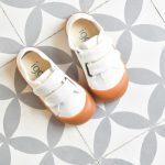 Zapatilla Igor Berri Velcro Blanco Kids