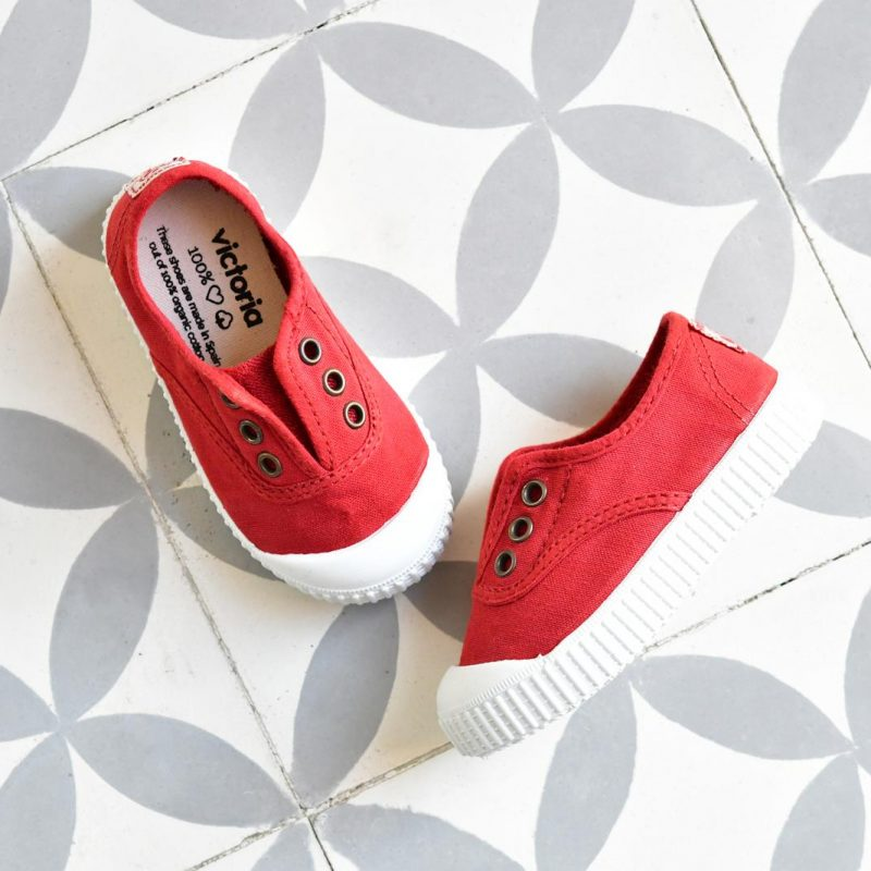 Zapatilla Inglesa Victoria 6627 Rojo Kids