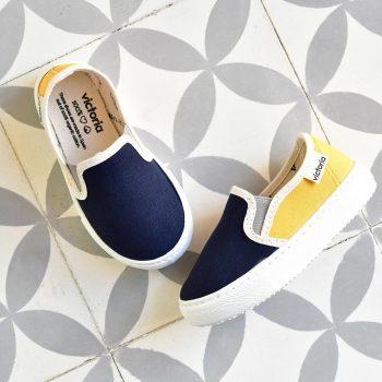 Zapatilla Slip-On Victoria 250162 Marino Kids