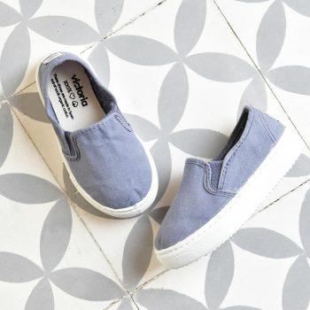 Zapatilla Slip-On Victoria 25025 Azul Kids