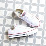 Converse AllStar Plataforma Baja Blanca