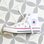 Converse Chuck Taylor AllStar Bota Blanca Jóvenes Kids